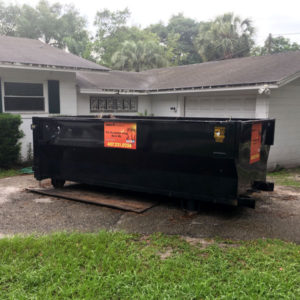Roll off dumpster rental in Orlando