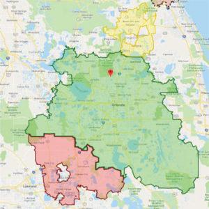 Greater Orlando Service Area